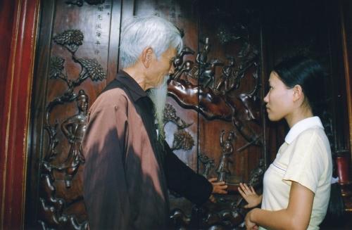 Nam-Dinh - Commentaire des boiseries historiées