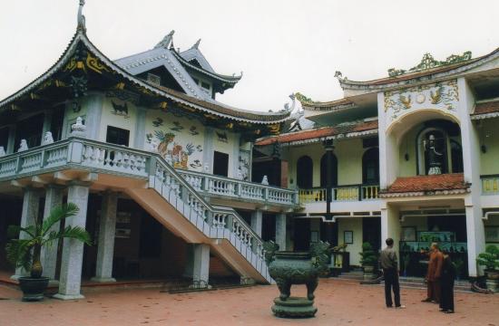Nam-Dinh - La pagode