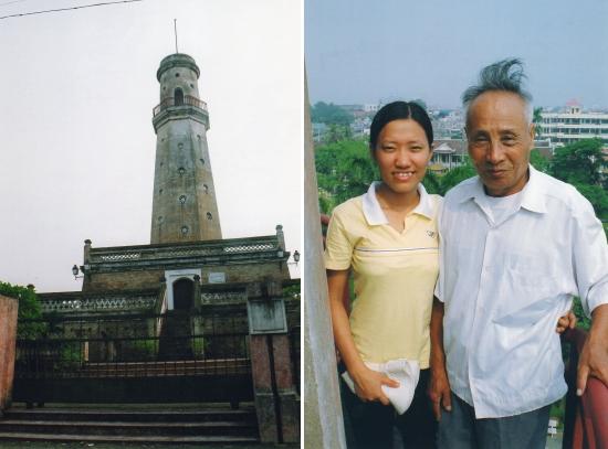 Nam-Dinh - Le vent souffle en haut de la tour