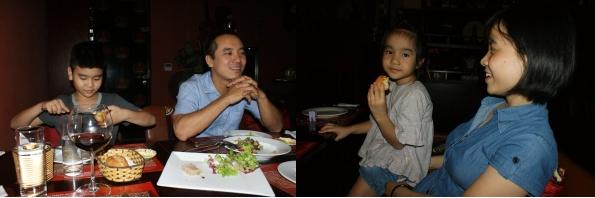 Père et fils, Mère et fille