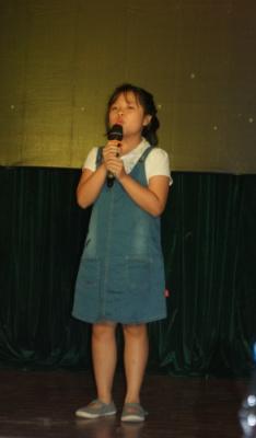Lan, une écolière de 9 ans