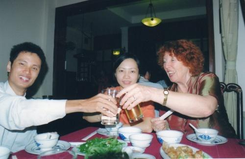 Avec Kim et Tân