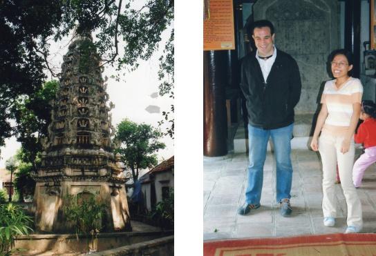 Beau stupa à étages - La bonne humeur de Pascal et Thuy