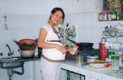 La fille de Thuy et Tuan naîtra dans un mois