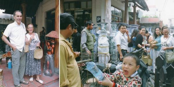 Emplettes à Bat Trang