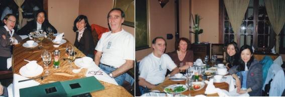 Reine, Chien, Thuy 97 et Jean-Marie - Jean-Marie, Régine, Hoai 2006 et Kim 1999