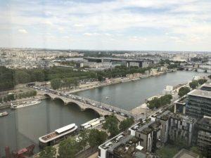 Paris, du haut de la BnF