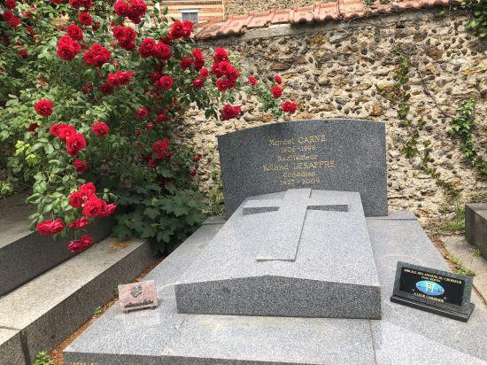 Tombe de Marcel Carné et Roland Lesaffre