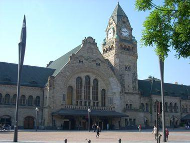 La gare SNCF de Metz