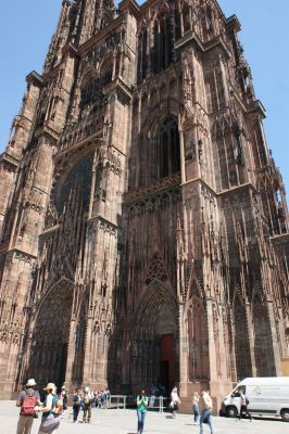 Le pilier Sud de la cathédrale de Strabourg