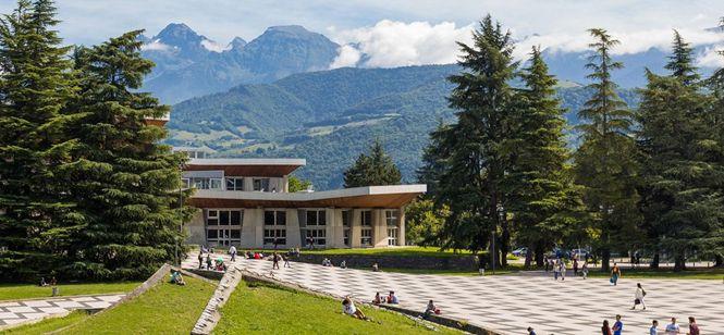 Le Campus de Saint-Martin-D'Hères - Grenoble