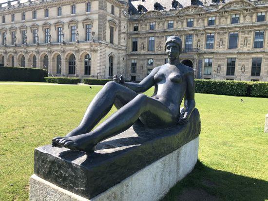 Belle statue de Maillol