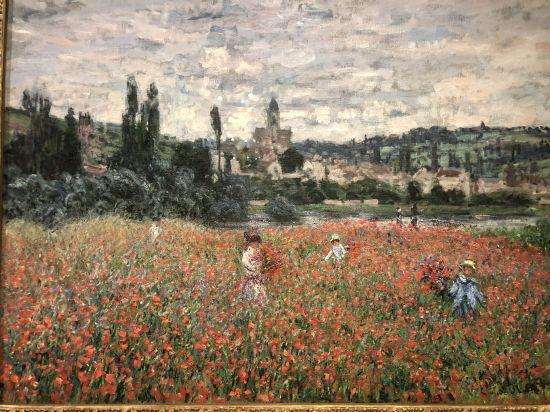 Champ de coquelicots – Claude Monet