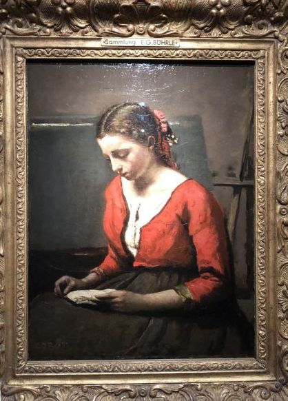 La Liseuse – Camille Corot