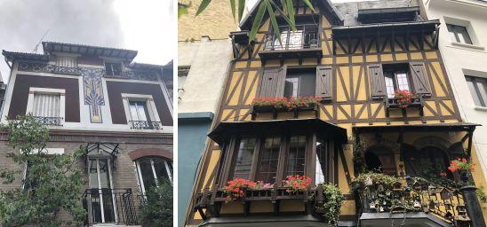 Les belles maisons du square Montsouris