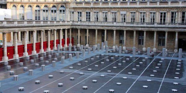 Les colonnes de Buren au Palais Royal