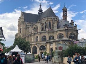 L'église Sainte Eustache