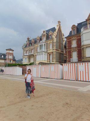 plage en Normandie