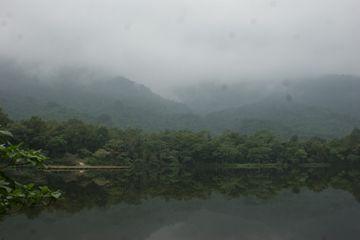 La brume enserre les collines