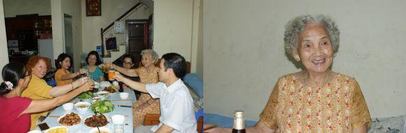 Chez les parents de Huong