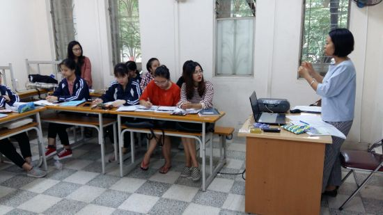Classe de 2ème  année de Thuy Linh