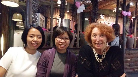 Avec Thuy Linh et Anh Tu