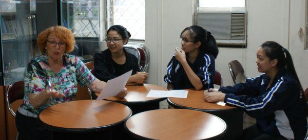 2ème atelier avec des étudiant.e.s de 2ème année