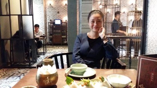 Restaurant vegetarien Luu Dam rue Hang Bai