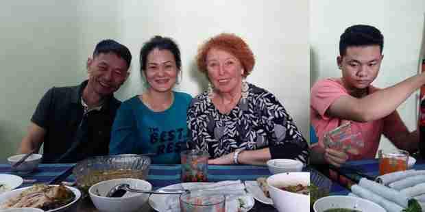 Déjeuner chez Thuy et Tuan d'Asiaplus