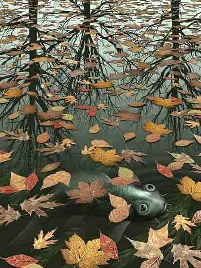 MC Escher - Trois mondes