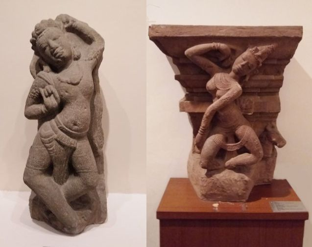 statues féminines de la culture du Champa
