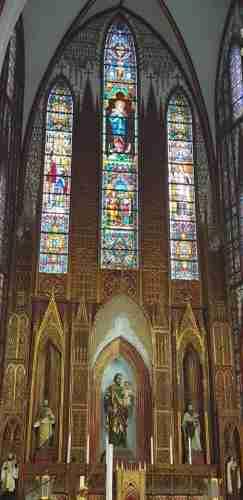 La nef et le chœur