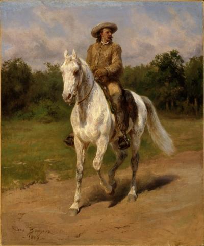 Portrait de Buffalo Bill par Rosa Bonheur