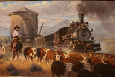 Le chemin de fer, symbole de la conquête