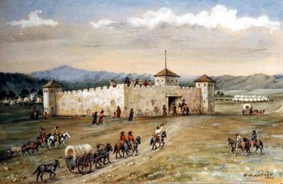 Le rôle économique et défensif des forts comme celui de Fort Laramie