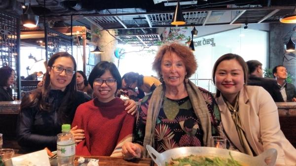 Phuong Lan, Anh Tu et Thu Ha, trois Préfassiennes