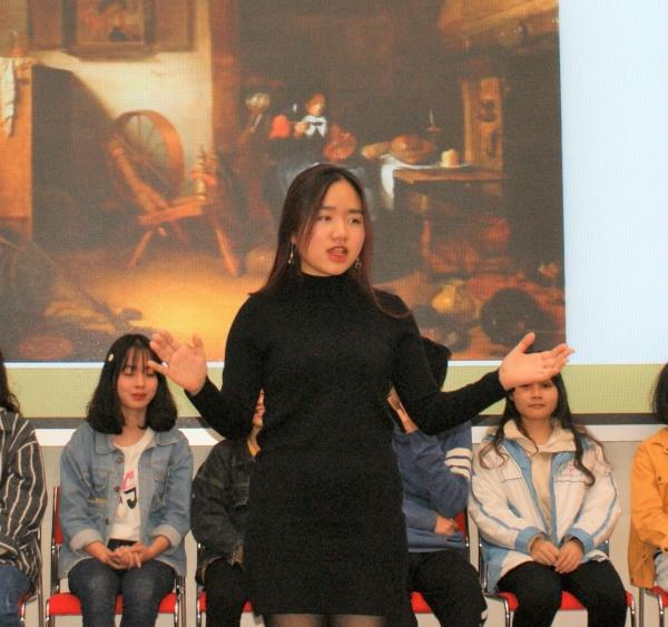 Thao (classe F8) est également une débutante motivée