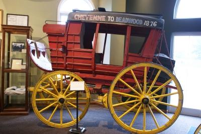 Une diligence au musée de Cheyenne