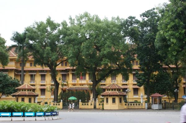 Le musée national d'Histoire d'architecture coloniale