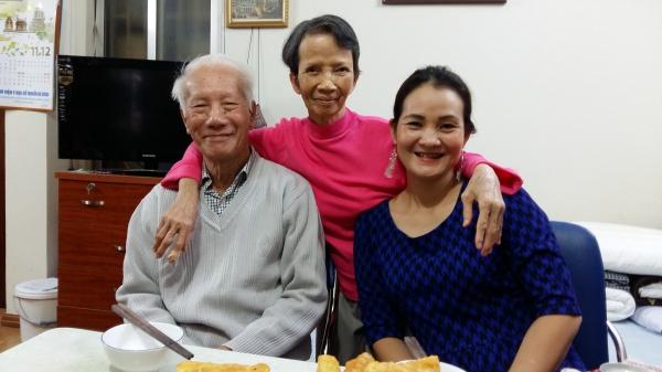 Tang, Nhu et Dang Thuy en novembre 2018