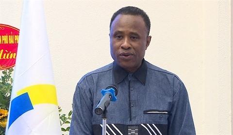 Chekou Oussouman, représentant de l'OIF en Asie-Pacifique depuis juin 2020