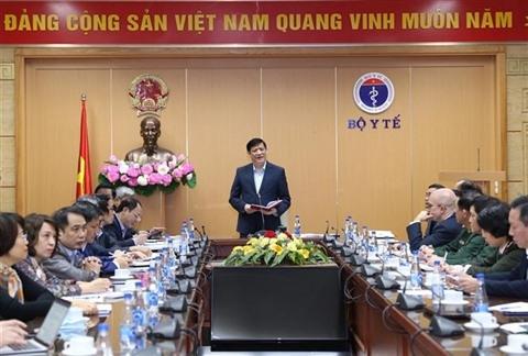 Le ministre de la Santé, Nguyên Thanh Long, lors de la conférence en ligne du 23 décembre