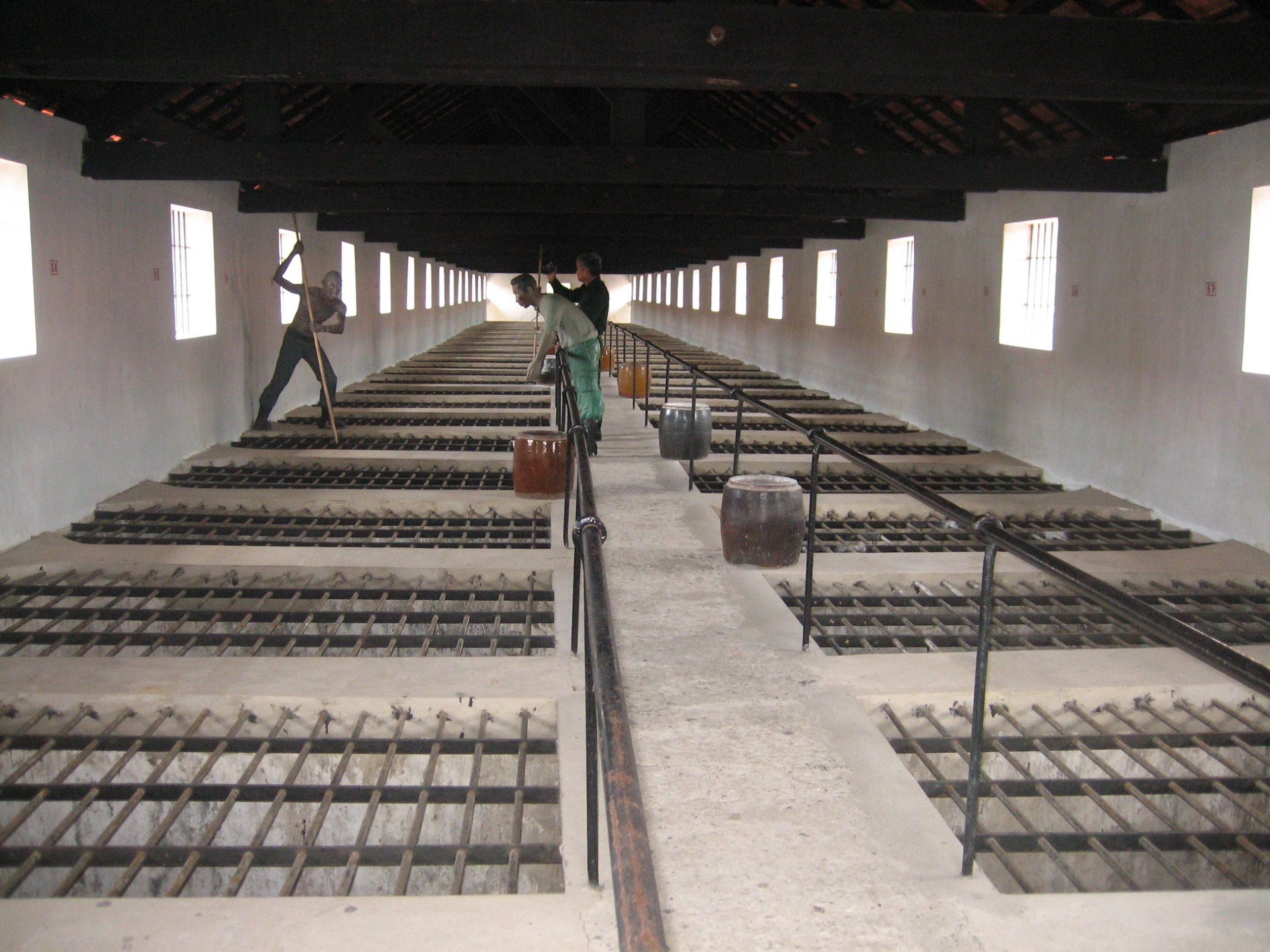 Cages à tigre, au musée local de Côn Dao