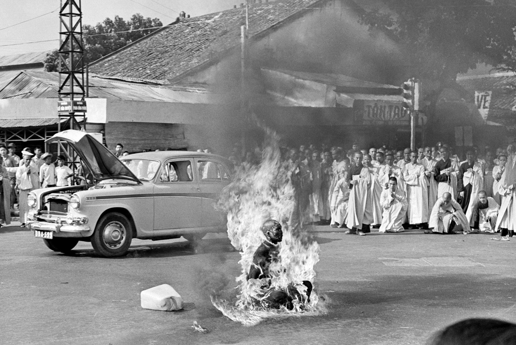 Immolation de Thic Quang Duc, le 11 juin 1963