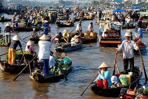 Le marché de Cai Be