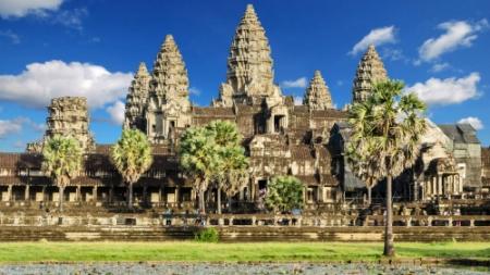 Le temple d'Angkor Vat