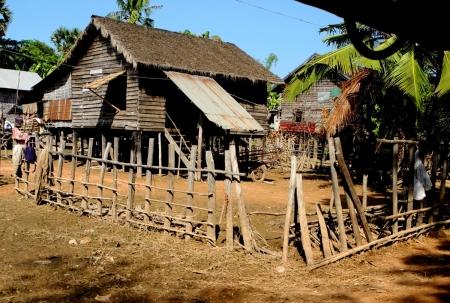 Village dans les environs de Siem Reap